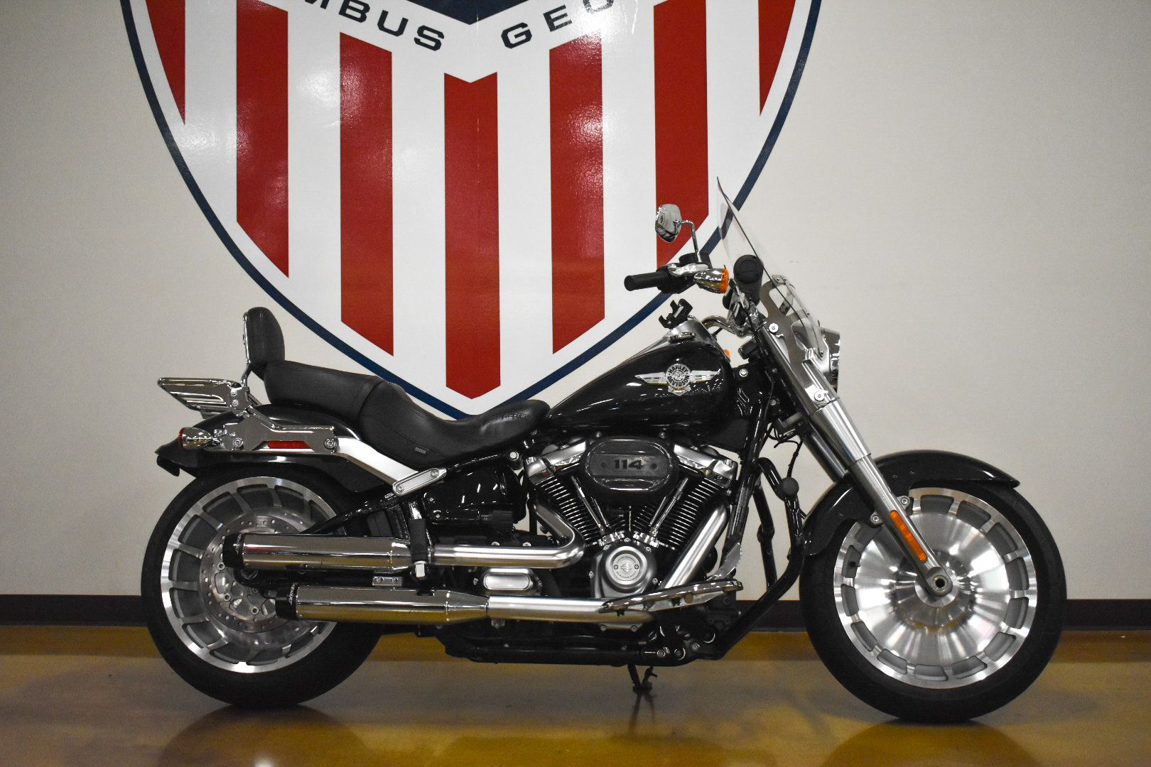 Pre-Owned 2018 Harley-Davidson Fat Boy 114 FLFBS
